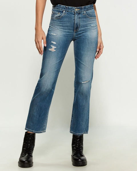 Rhett High Rise Straight Jean