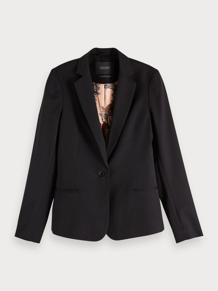 silk lined blazer