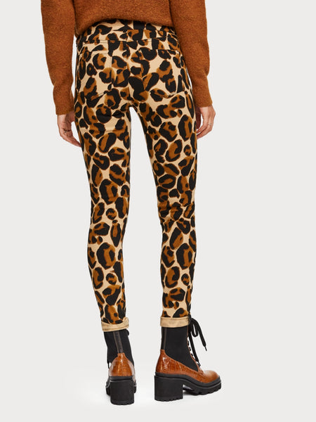 Scotch and Soda leopard jeans