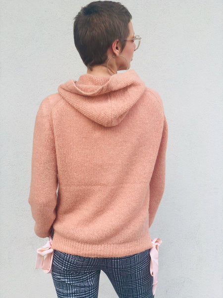 blush hoodie by Scotch and Soda