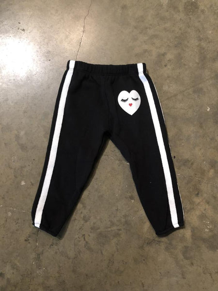 Double Striped Heart Pants