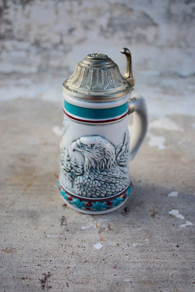 Bald Eagle Mini Stein