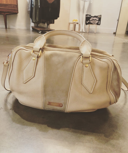 Vintage Burberry hand bag
