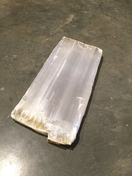 Selenite Serving Slab Large