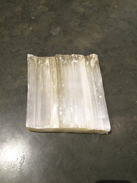 Selenite Serving Slab Small