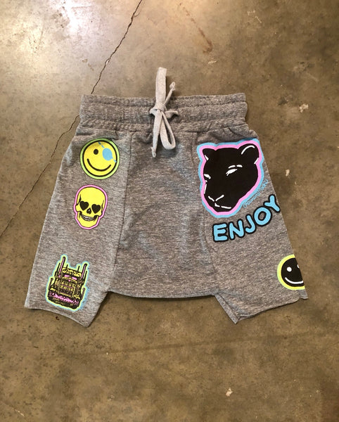 Lauren moshi kids drop crotch shorts
