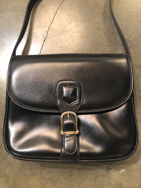 Vintage black Celine shoulder bag