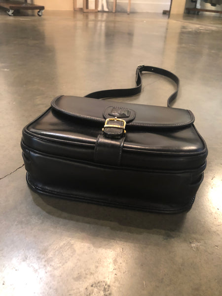 Black Celine crossbody bag
