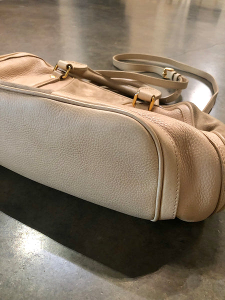 Ivory Burberry crossbody bag