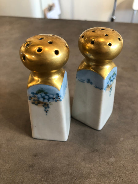Japanese Hand Painted Salt & Pepper Shakers