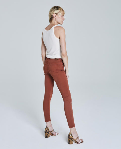 AG jeans burnt orange Farrah jeans
