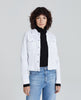 AG jeans white denim jacket
