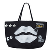 Black Lips Luxury Tote