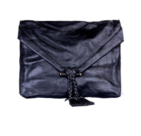 Black Envelope Crossbody Purse