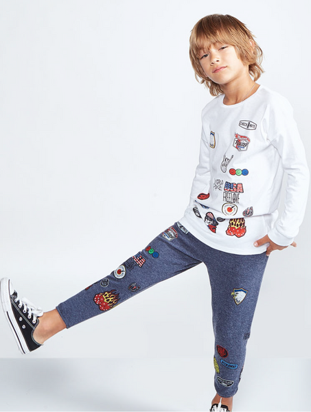 Rock Patches Sweatpant