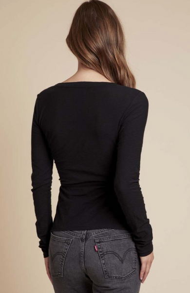 Laurel Long Sleeve Wrap