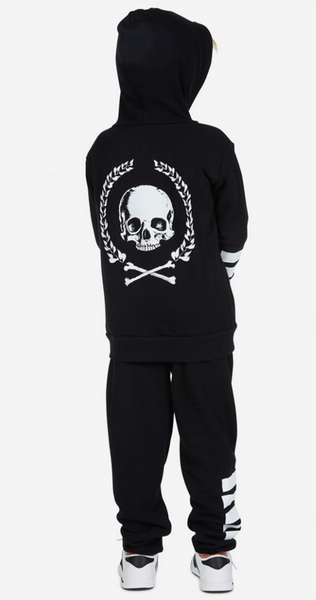 Stars and Stripes and Skulls Hoodie