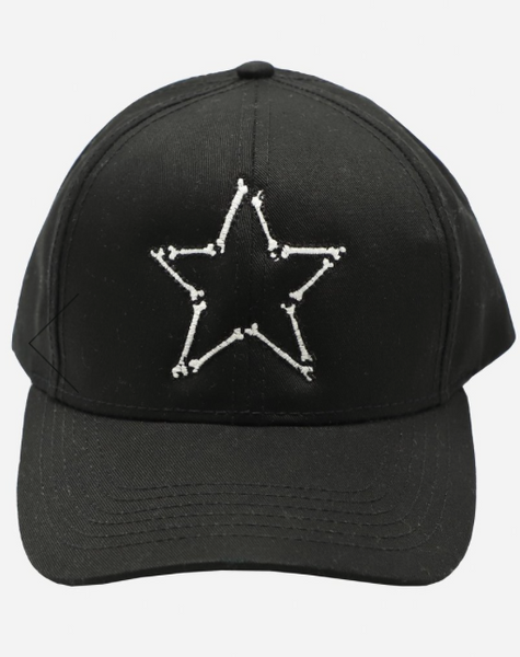 Bone Star Canvas Hat