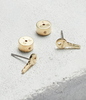 Mini Key Earings Dream Gold