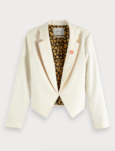 Scotch and Soda cropped blazer