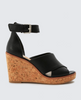 Urbane Leather Wedges
