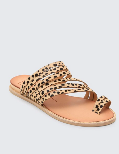 Nelly Leopard Sandals