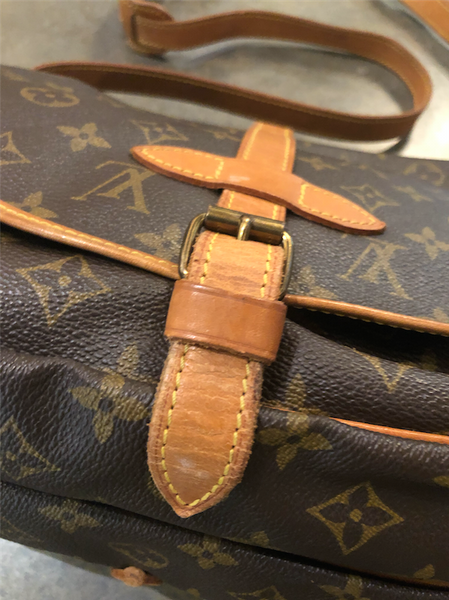 Vintage Double Sided LV Monogram Crossbody Bag