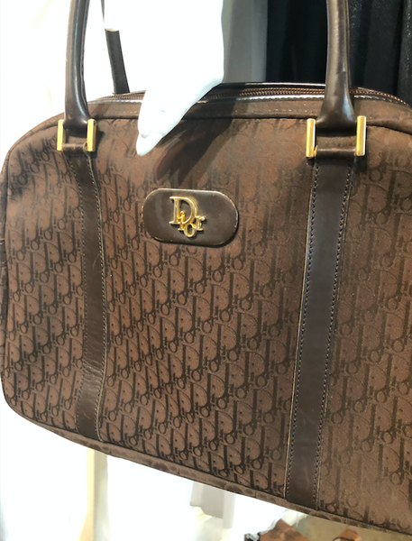 Brown vintage Dior bag