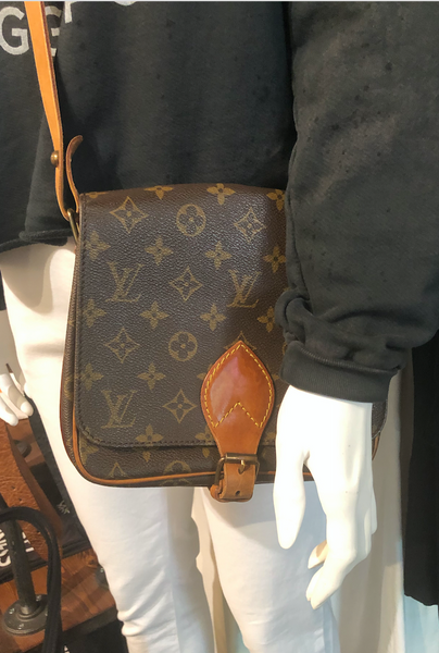 Vintage Louis Vuitton Cartouchiere MM Crossbody Bag