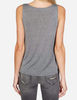 heather grey tank top with horseshoe