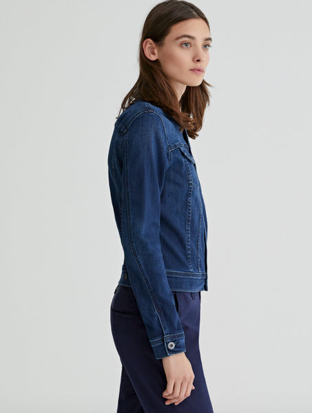 Womens denim jacket by AG jeans