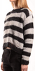 Striped Distressed Pullover