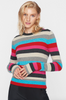 striped sweater by Pam and Gela