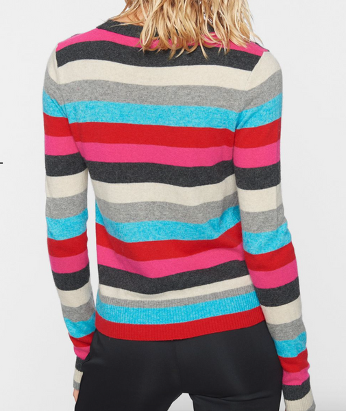 Pam and Gela rainbow sweater
