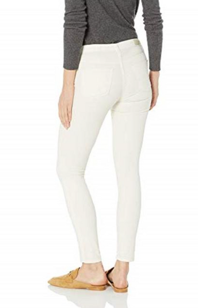 ivory corduroy jeans by AG