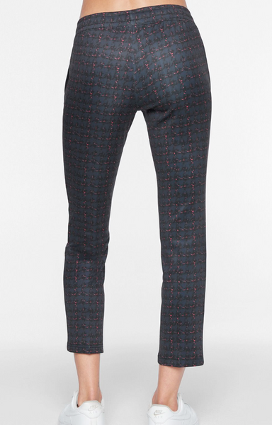Tweed track pants by Pam and Gela