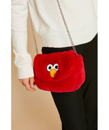 Floofy Elmo Bag With Chain Strap