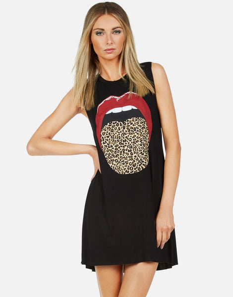 lauren moshi leopard dress