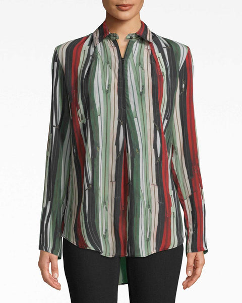 Nicole Miller Blouse with zipper
