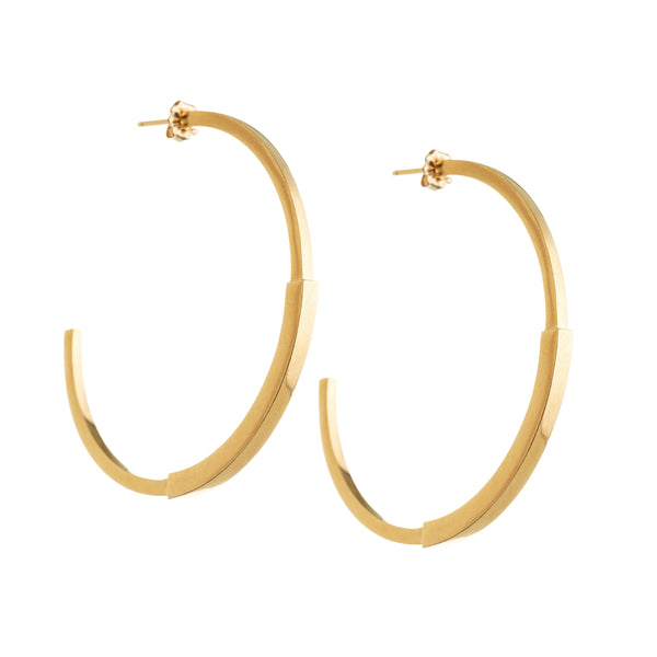 Loma Large Hoops