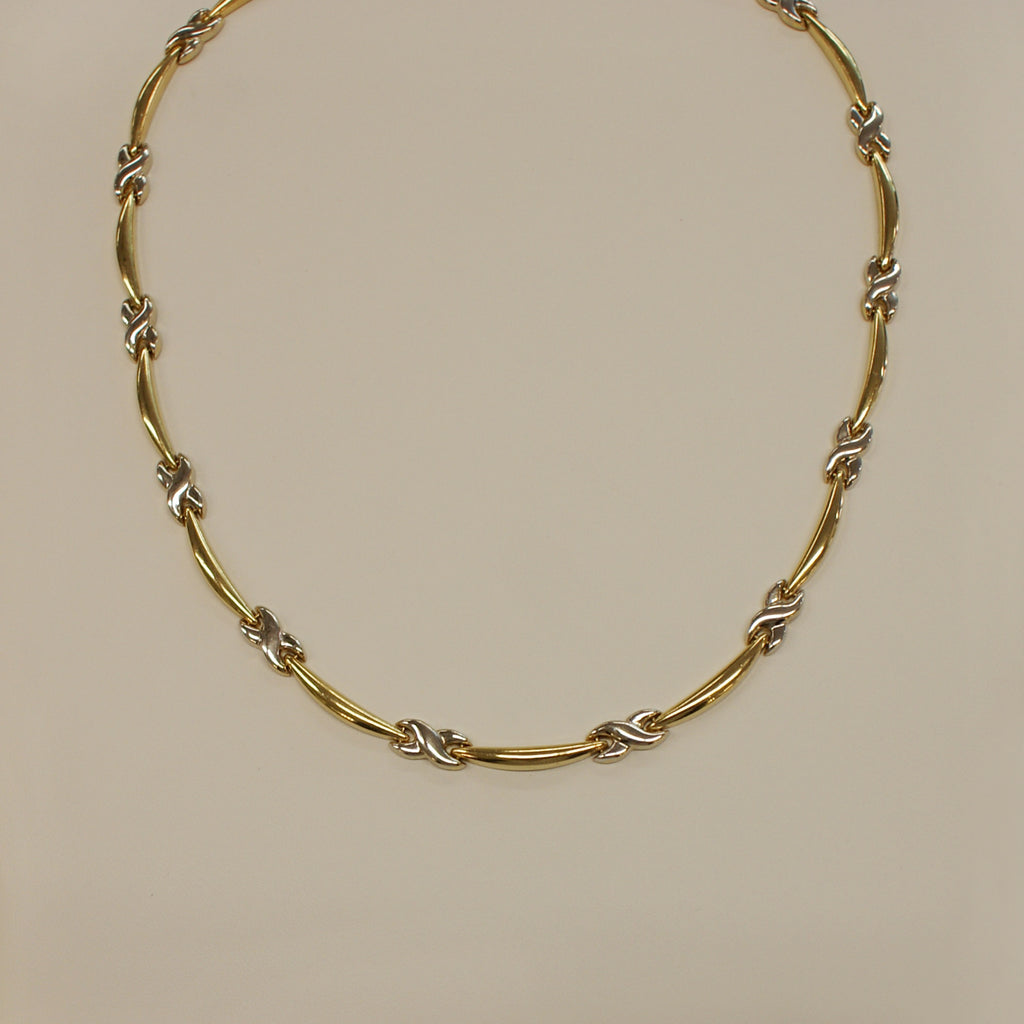 chain zm necklace en gold kay mv two tone kaystore