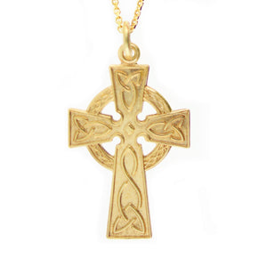 10k Celtic Cross Necklace