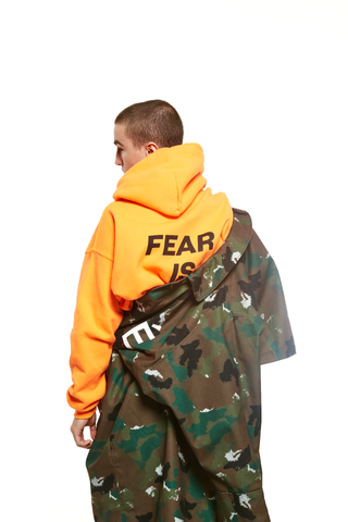 """FEAR IS A LIAR"" Hoodie"