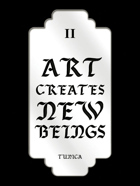 II<br>Art Creates New Beings<br> Poster