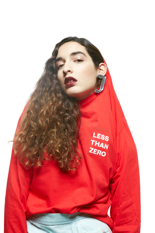 """LESS THAN ZERO""<BR> Long Sleeves"