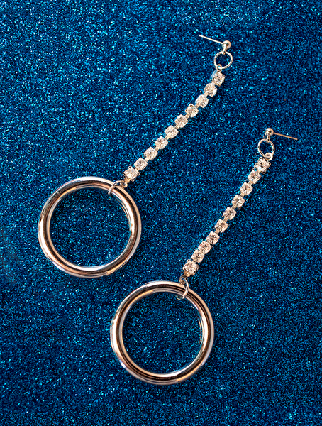 Drop Ring Earrings