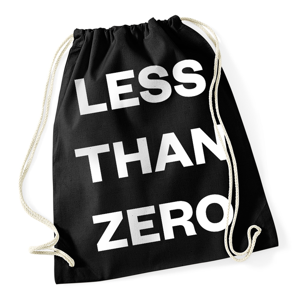 """LESS THAN ZERO"" Gymsack"