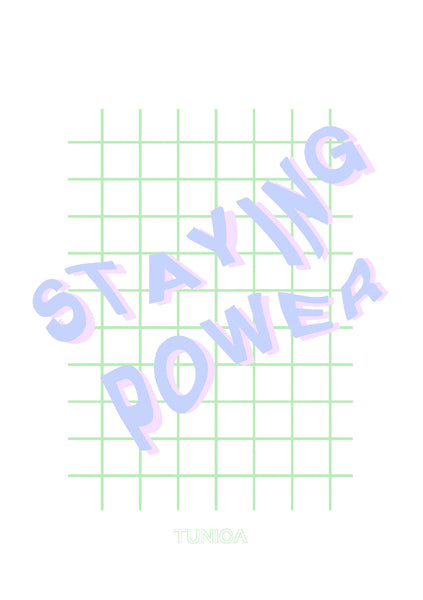 Staying Power Poster