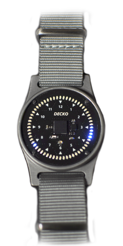 DECKO WATCH - BLUE LEDS
