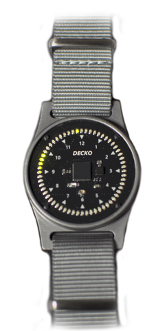 DECKO WATCH - GREEN LEDS